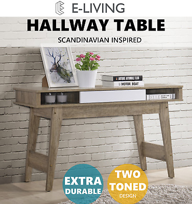 Cevo Hallway Console Table Hall Side Entry Display Desk Drawer Storage Stand