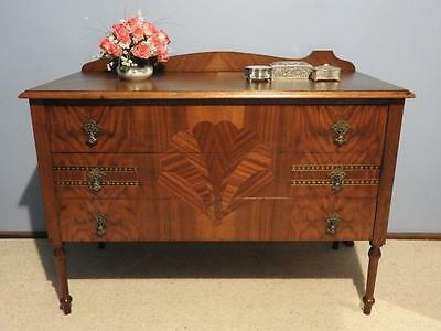 ART DECO VINTAGE CHEST OF DRAWERS DRESSER SIDEBOARD LAMP HALL TABLE TV STAND 30s