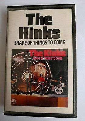The Kinks - Shape of things to come - tape cassette