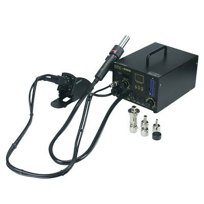 AOYUE 968A+ Repairing Hot Air Station Soldering Iron with Smoke Absorber PCB