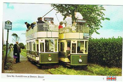 Unused Dennis P/C Trams at Golf House, Princes Park Eastbourne, now at Seaton