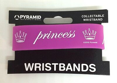Princess Rubber Collectable Wristband