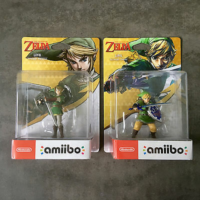 amiibo The Legend of Zelda - Link Skyward Sword UND Link (Twilight Princess)