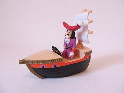 Vintage Peter Pan Captain Hook Friction Toy/CakeTopper