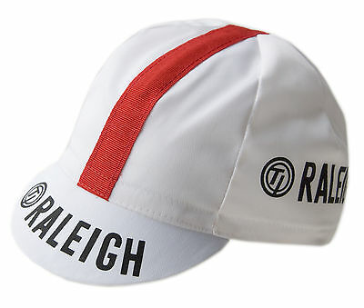 TI Raleigh Retro Team Cotton Cycling Cap Italian made L'Eroica