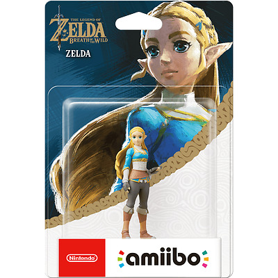 Amiibo Zelda Breath of the Wild Zelda NEU & OVP
