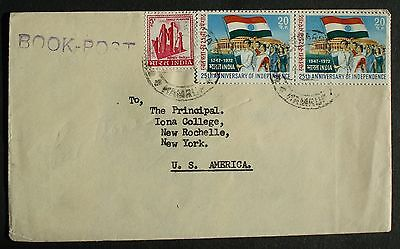 INDIA # POSTAL HISTORY, to US