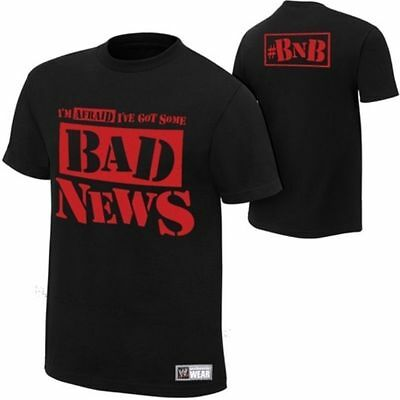 Wade Barrett Bad News T Shirt