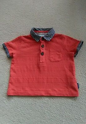Baby Boys 'ted Baker' Polo Shirt. Age 3-6 Months.