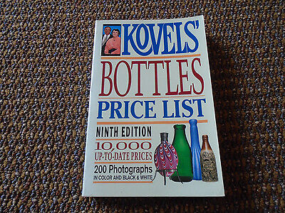 kovels bottle guide