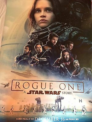 Rogue One A Star Wars Story 4x6 Bus Shelter