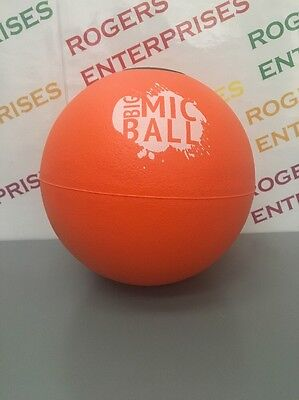 Big Mic Foam Ball w. Microphone Space Conference/Lecture/Meet Audience Throw NEW