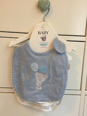 Baby Boy Set Of Three Me To You Bibs