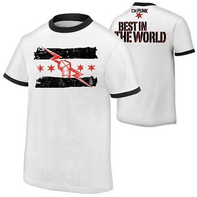 Cm Punk Best In The World White T Shirt