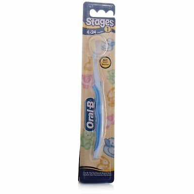 Oral-B Stages Toothbrush 4-24 Months 1 Toothbrush 1 2 3 6 12 Packs