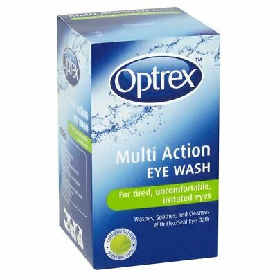 Optrex Multi Action Eye Wash 100ml 1 2 3 6 12 Packs