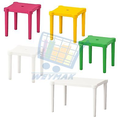IKEA UTTER children's table, stools, indoor/outdoor playset