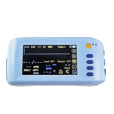 Handheld ICU CCU 6-Para Vital Sign Patient Monitor Bluetooth  Ekg Heart Monitor
