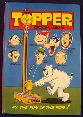 The Topper Book 1973.  Free P&P to UK