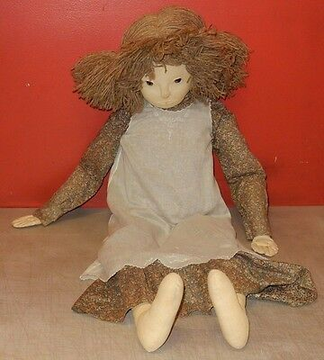 "Very Nice! Vintage Linda Carr Doll In Dress 40"" Tall"