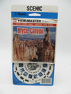 View-Master A346, Bryce Canyon, National Park Series, 3 Reel Set, New in Package