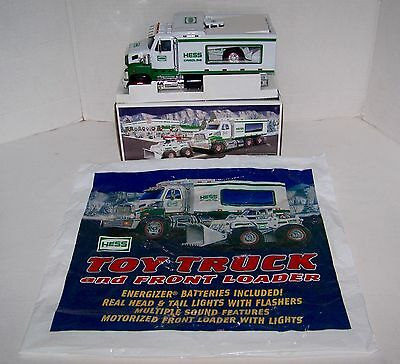 2008 ~ Hess Toy Truck And Front Loader ~ Nib