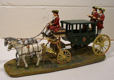 Lang & Wise Colonial Williamsburg Randolph Carriage Very Nice Condition/No Box