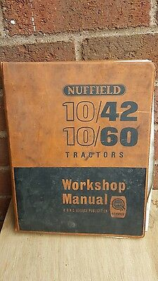 nuffield tractor workshop manual