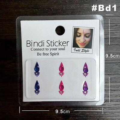 Indian Bindi Irwin Spot Forehead Round Jewelry Festival Bindis Stickers Forehead