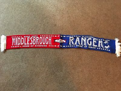 Rangers - Middlesbrough Football Scarf