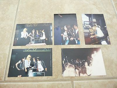 Guns & Roses 1980's Lot Of 5 Live & Candid Photos Lot Axl Rose Slash Duff Izzy
