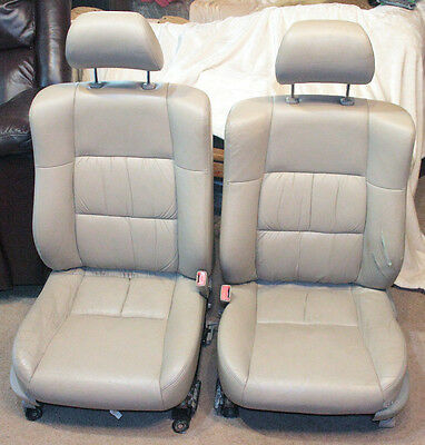 Astounding 2000 Lexus Es300 Front Seat Pair Tan Leather Memory Heated Gmtry Best Dining Table And Chair Ideas Images Gmtryco