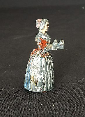 Vintage Pencil Sharpener Baker's Chocolate Girl Antique Early 1900s Figural Ads