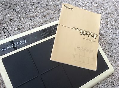 Roland Octopad Spd 8 Spd-8 Vintage 1990 Programmable Midi Drum Pad Pu And Manual