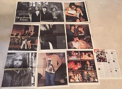 KINGS OF LEON Rare Magazine Clippings Cuttings