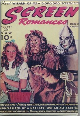 The Wizard Of Oz Screen Romances Magnet