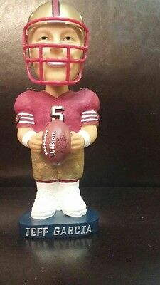 Jeff Garcia (limited edition) hand painted Bobble head Doll. NFL