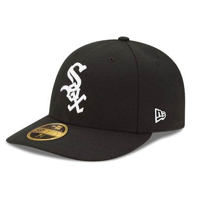 New Era Chicago White Sox Authentic Low Profile 59FIFTY Fitted MLB Cap Game