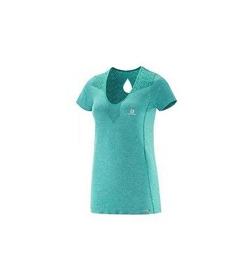 SALOMON maillot T-Shirt  Running femme ELEVATE SS Seanless Tee W neuf taille XS
