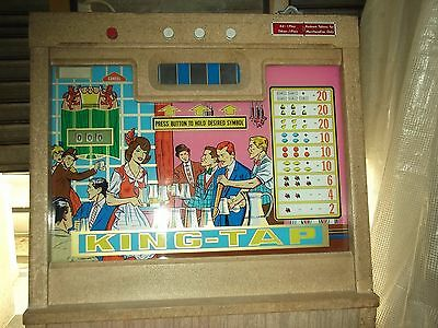 Chicago Coin Company, Inc. KING-TAP vintage slot