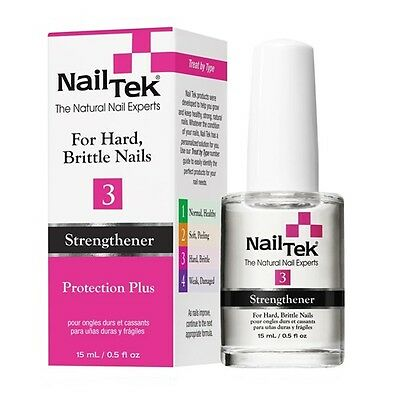 Nail Tek Strengthener 3 Protection Plus  .5oz.