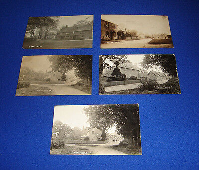 vintage postcard-chesterton-x 5-nr. bicester-oxfordshire-rare.