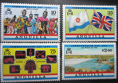Anguilla 1983 Commonwealth Day Set. MNH.