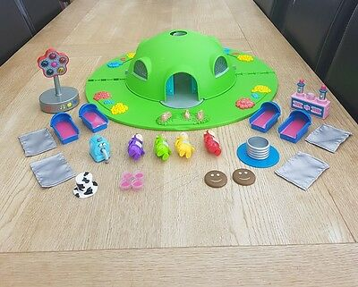 Teletubbies House Dome Play Set. Rare Telly Tubbies Role Play Vintage Toy.