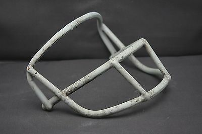 Vintage Original Schutt Football Helmet Facemask Game Used Worn 1970's OPO 8