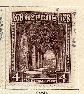 Cyprus 1928 Early Issue Fine Used 4p. 159286
