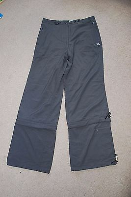 New Craghoppers Ladies Lightweight Travel Convertable Walking Trousers UK 10 R