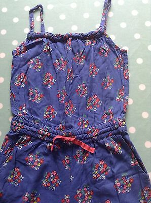 Mini boden girls playsuit jumpsuit blue floral age 7 8 for Mini boden germany