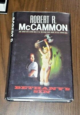 Bethany's Sin by Robert R. McCammon 1st edition hardcover