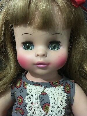 "1967 Horsman Vinyl & Hard Plastic 12"" Doll  - Very Pretty"